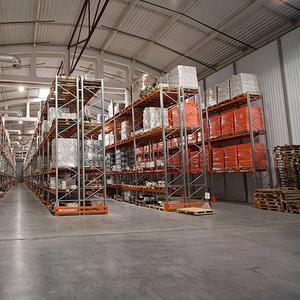 Освещение складского комплекса