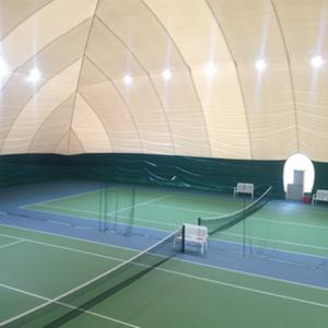 Освещение спортивного воздухоопорного сооружения