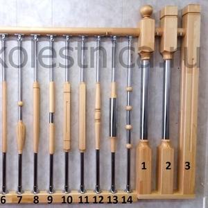 Комбинированные балясины для лестниц