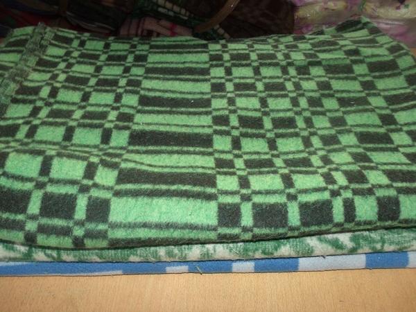 Полушерстяные одеяла РЖД