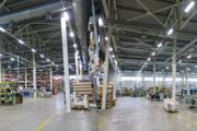 Освещение производственных и складских территорий компании «Хабазит»,